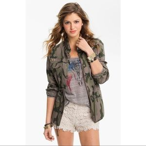 Studded Army Jacket - XS